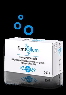 Opakowanie hipoalergicznego mydła Sensolium